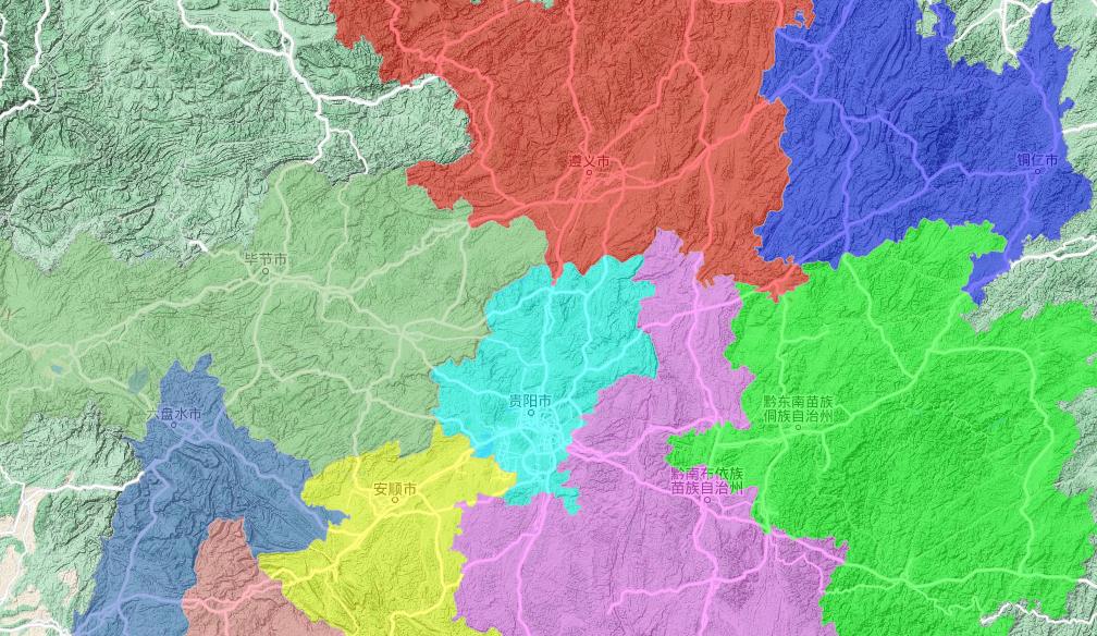 全国乡镇边界数据