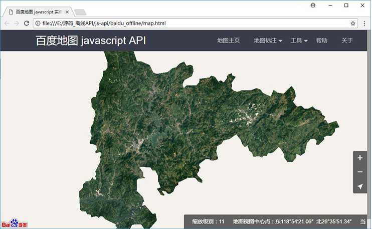 《水经注二维离线GIS系统》采用什么地图显示客户端平台