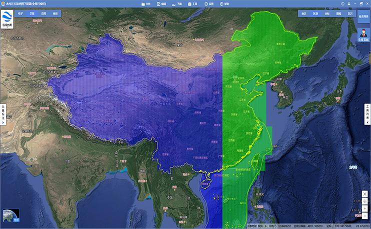 22.3TB全国1-20级谷歌离线卫星影像终于出炉了