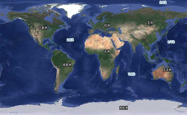 全球 100TB 谷歌 1-19 级高清卫星影像