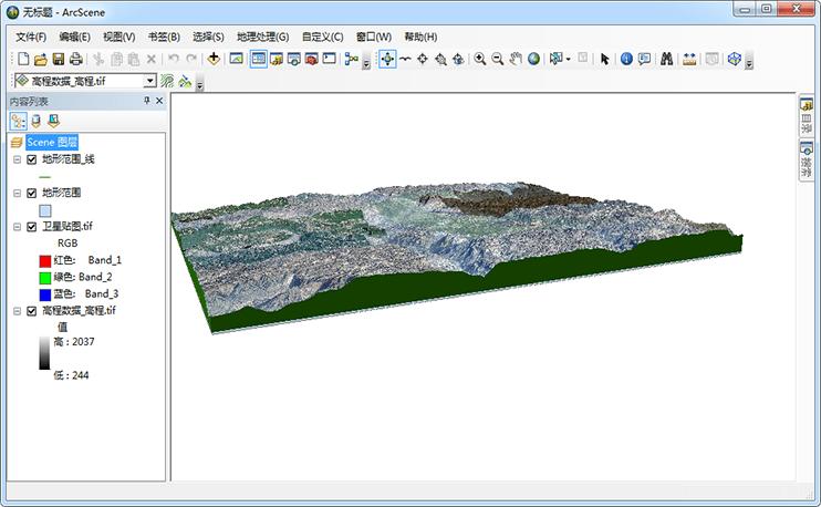 生成3DMAX虚拟三维地形场景