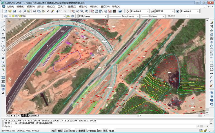 可导入 AutoCAD 格式的 DXF 文件