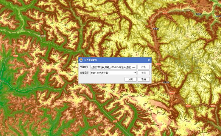 可导入 XYZ 文件本格式的坐标点