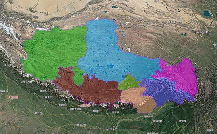 省市县行政区划边界