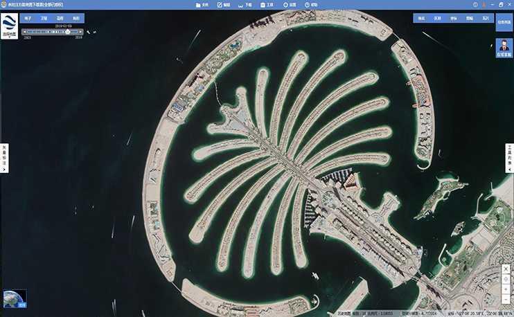 谷歌地球高清卫星影像