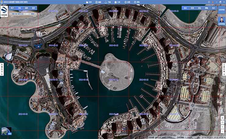 谷歌地球卫星影像有明确的拍摄日期