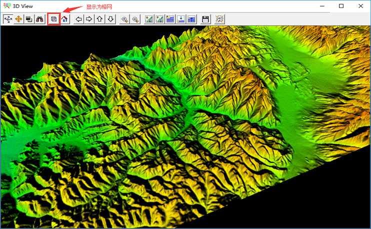 10米等高线地形地貌渲染图