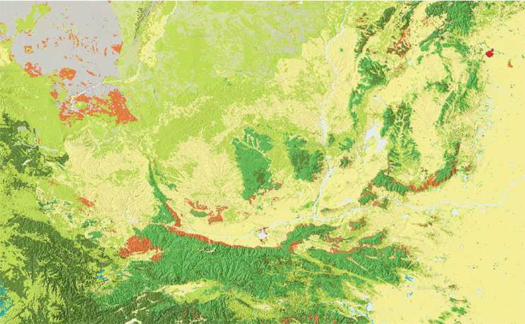 地质图、专题图等其它专业地图