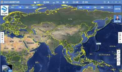 单机离线浏览全国高清卫星影像地图