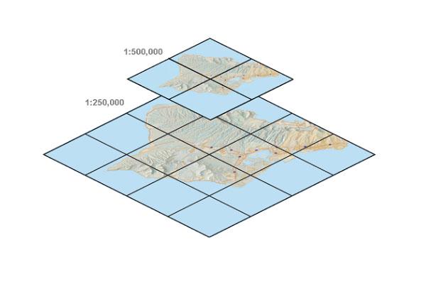 如何下载谷歌地球影像的 ArcGIS Server 缓存切片