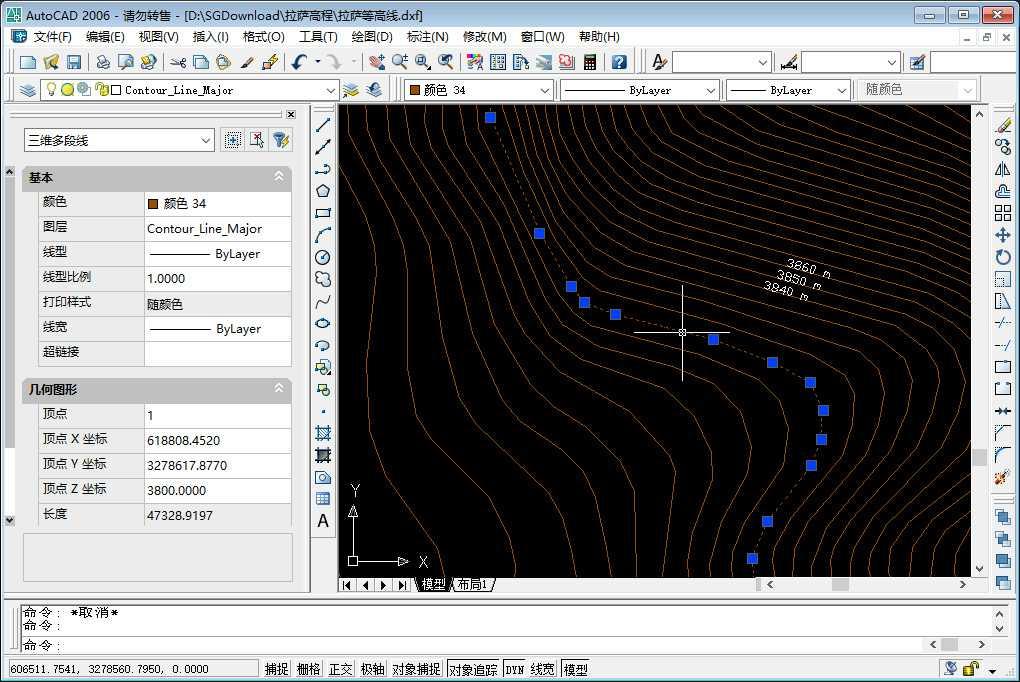 16在CAD中局部放大之后的效果.jpg