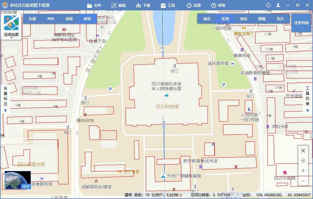 4在线显示矢量建筑轮廓数据.jpg