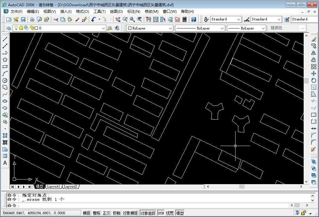 10在CAD中放大查看矢量建筑轮廓数据.jpg