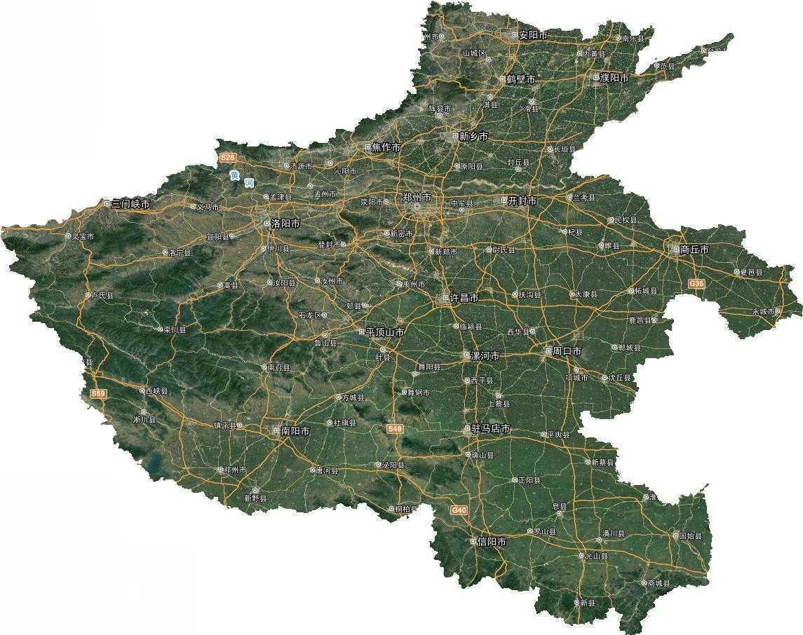 河南省谷歌高清卫星地图下载(百度网盘离线包下载)