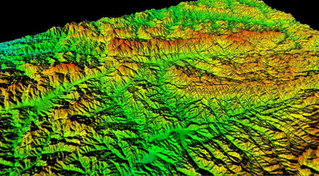 1河南省谷歌地球高程DEM数据三维效果图.jpg