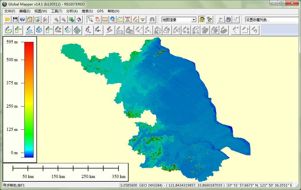 11江苏省谷歌地球高程DEM数据在GlobalMapper中打开.jpg