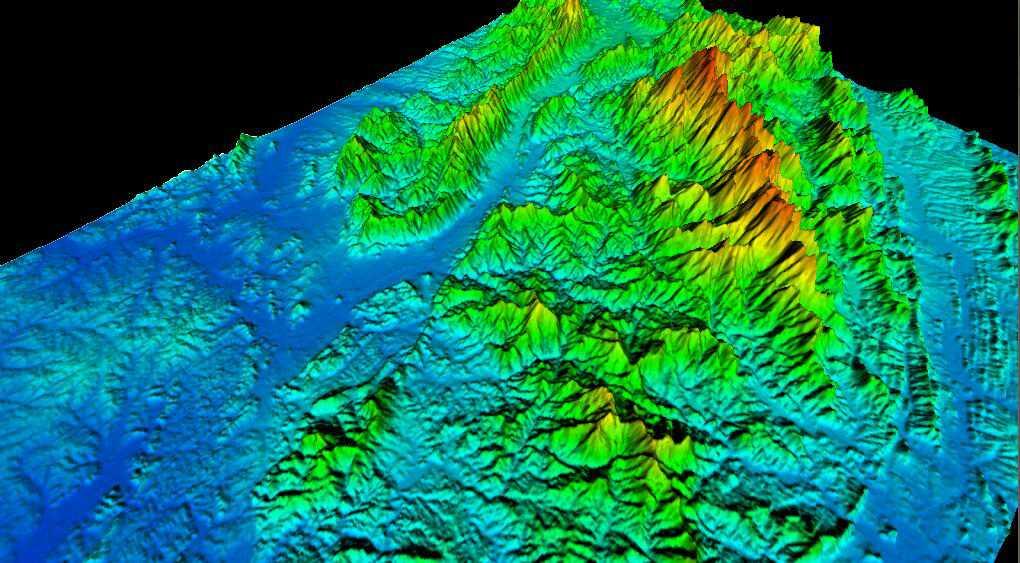 1江西省谷歌地球高程DEM数据三维效果图.jpg