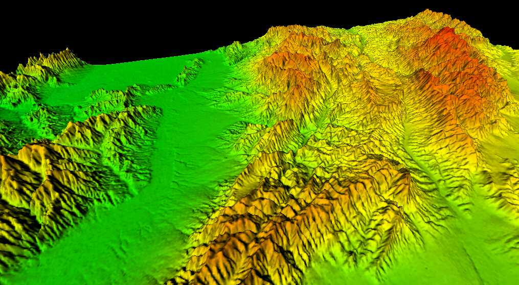 1山西省谷歌地球高程DEM数据三维效果图.jpg