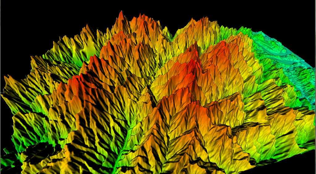 1台湾省谷歌地球高程DEM数据三维效果图.jpg