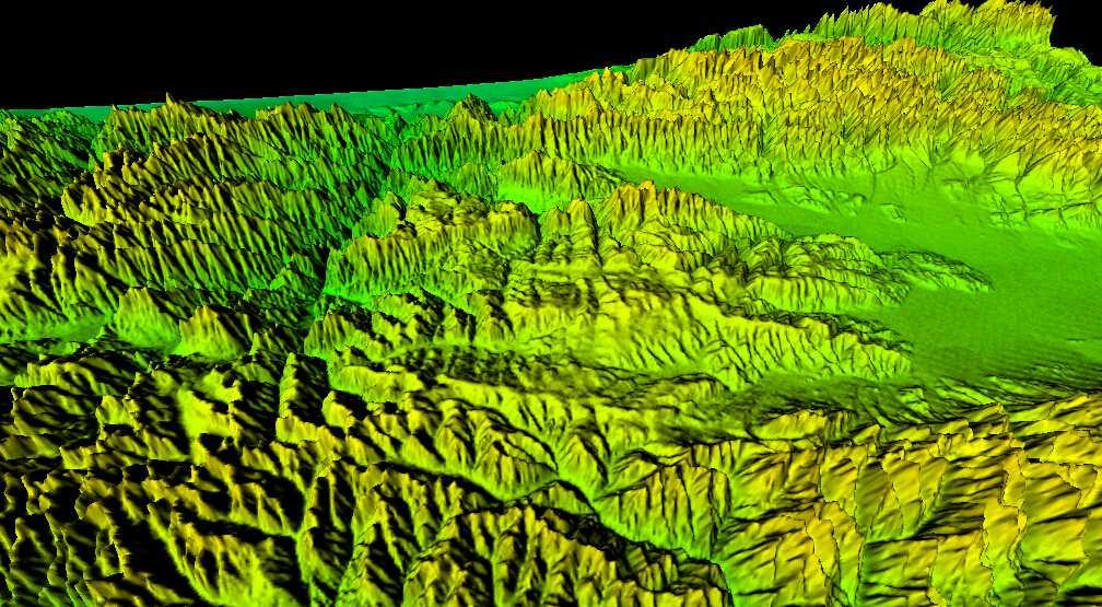 1新疆谷歌地球高程DEM数据三维效果图.jpg