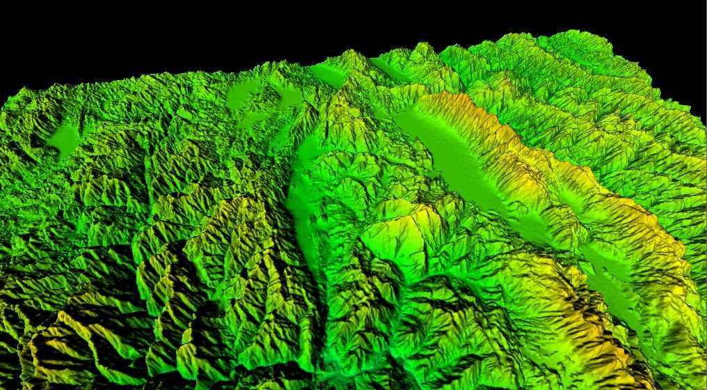 1云南省谷歌地球高程DEM数据三维效果图.jpg