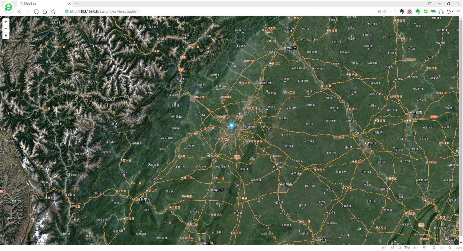 基于MapBox源码在内网中加载离线卫星地图的方法