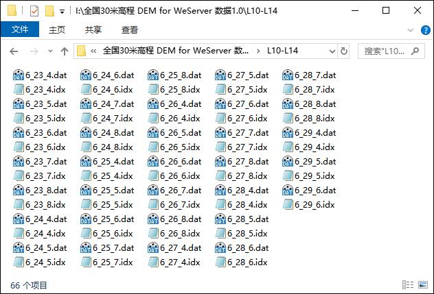 04全国30米高程DEM for WeServer 数据文件.jpg