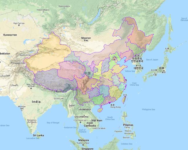 省市县行政区划边界下载